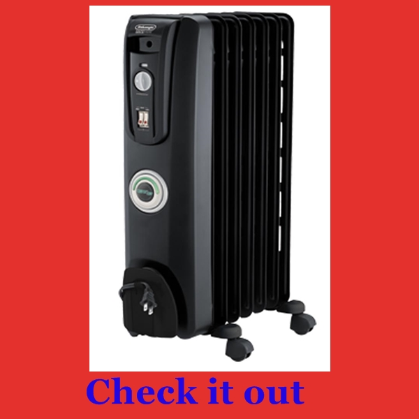 Safest space heater for nursery and baby room DeLonghi EW7707CB