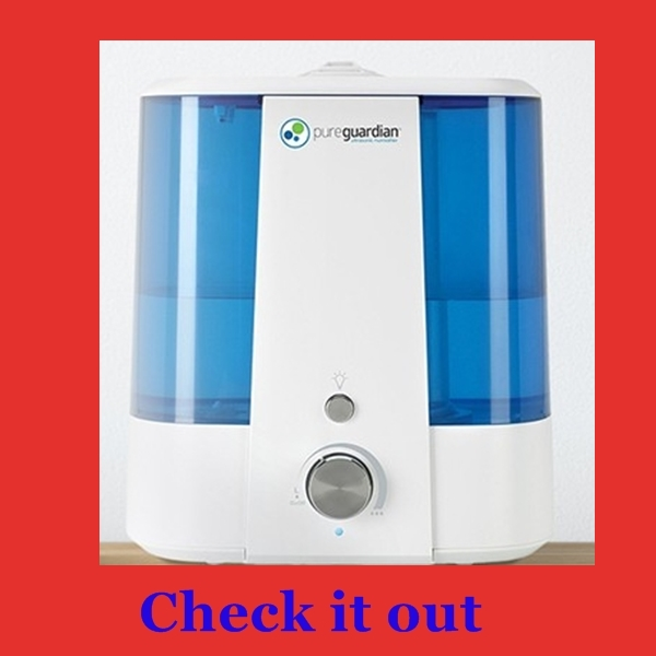 Easy cleaning humidifier...PureGuardian Ultrasonic cool mist 1