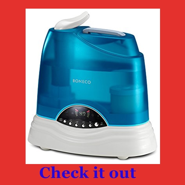 best humidifier for sinus problems, allergies or asthma...Boneco Air-o-Swiss warm and cool
