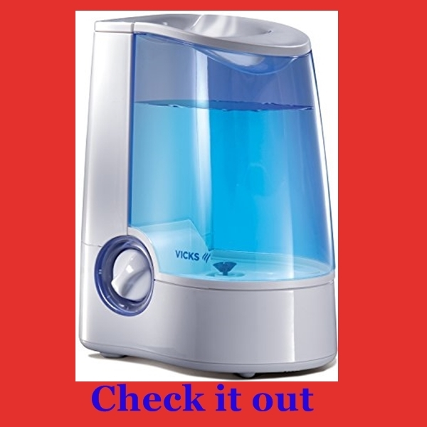 best humidifier for sinus problems, allergies or asthma...Vicks warm mist