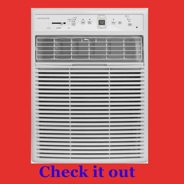 Best air conditioner for vertical, narrow casement or sliding window...Frigidaire FFRS1022R1 10000 BTU