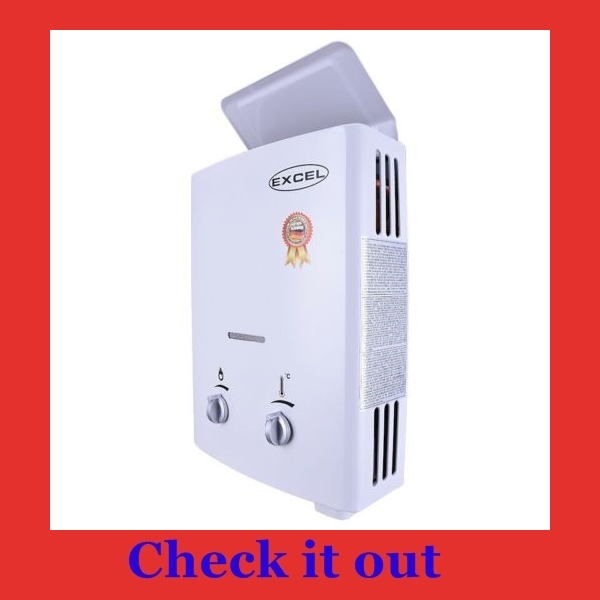 Best tankless water heater for RV, camper or travel trailer...Excel Gas Heater