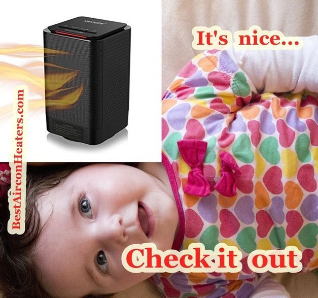Safest space heater for nursery and baby room... Keynice electric table compressed 3