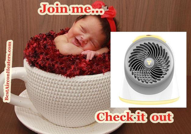 Safest space heater for nursery and baby room... Vornadobaby Sunny compressed 2