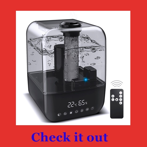 best humidifier for sinus problems, allergies or asthma...JBTOR 4L cool mist