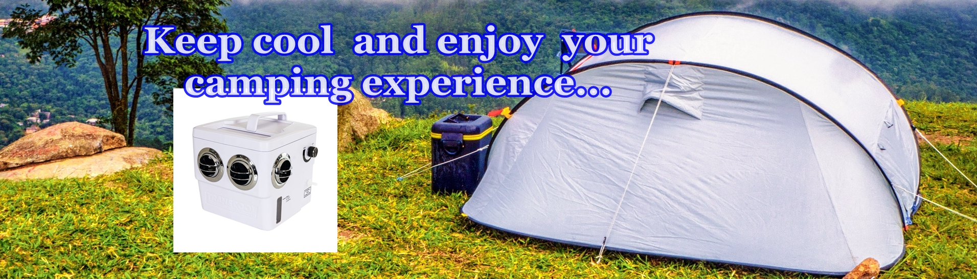 air conditioners for tent camping... Enjoy 2